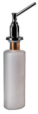 OakBrook Soap Dispenser 13.3 in. H x 2.5 in. W x 5.6 in. L Chrome Plastic