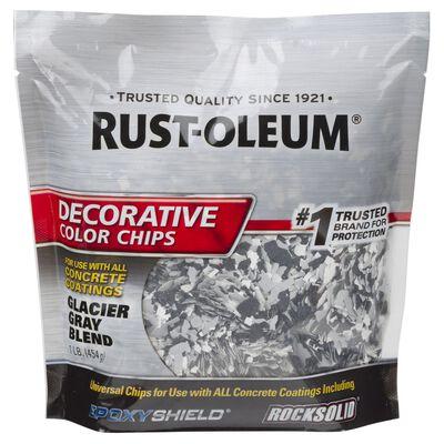 Rust-Oleum Decorative Color Chips Satin Gray Blend 1 lb.