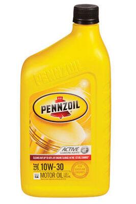 Pennzoil SAE 10W30 Motor Oil 1 qt.