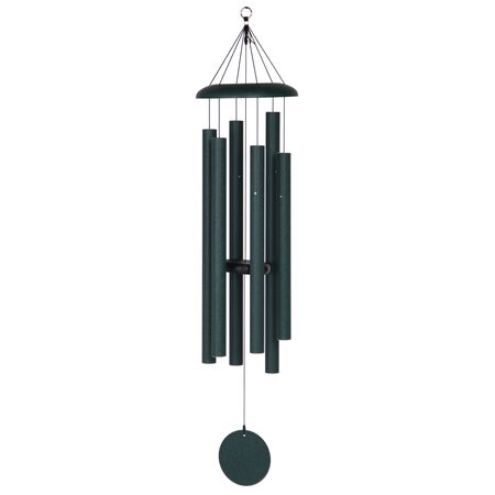 "Corinthian Bells, 50"" Green Windchime"