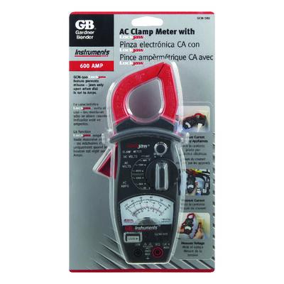 GB Analog Clamp-On Meter Black/Red