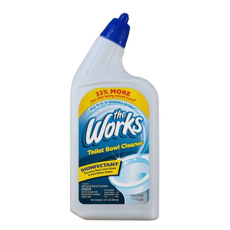 The Works Liquid Toilet Bowl Cleaner 32 oz.