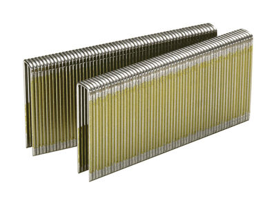 Senco 7/16-inch Narrow Crown Staples Gray 1-1/2 in. L