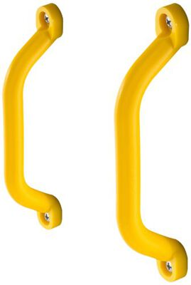 Play Handle, 6 In Length, 2-1/2 In Projection, Polyethylene, Yellow