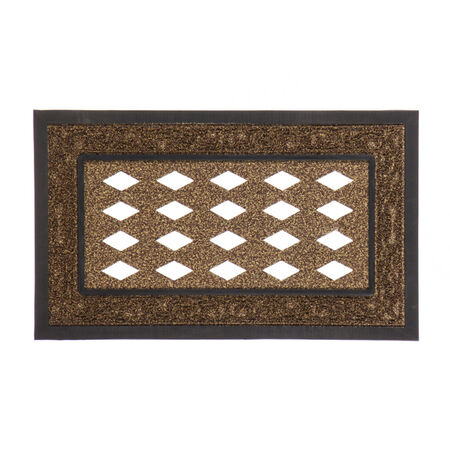 Brown Scroll Sassafras Mat Tray