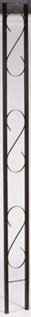 L.L. Building Products 1 in. D x 96 in. H x 9 in. W Ornamental Iron Flat Column