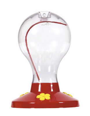 Perky-Pet Garden Song Hummingbird Plastic 16 oz. Bottle Nectar Feeder 3