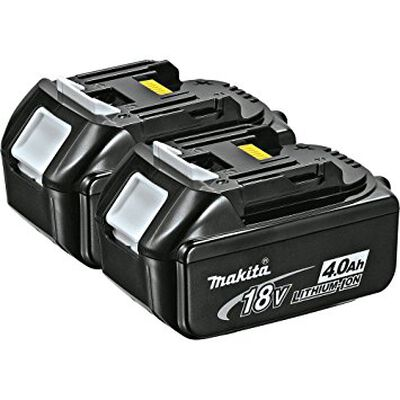 Battery Makita 18v LXT 4.0 2 PK