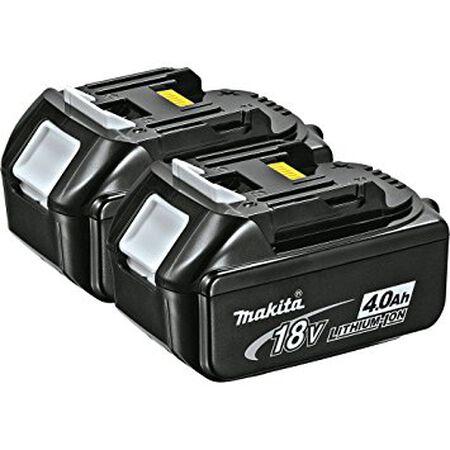Battery Makita 18v LXT 4.0 2 PK