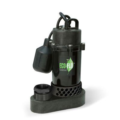 Ecoflo 1/3 hp 3600 gph Aluminium Submersible Sump Pump