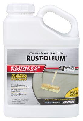 Rust-Oleum Moisture Stop Fortifying Sealer Masonry Waterproof Sealer Clear 1 gal.