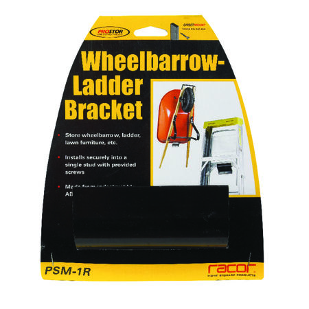 Racor 4 in. H x 1-3/4 in. L x 4 in. W Steel Wheelbarrow/Ladder Bracket