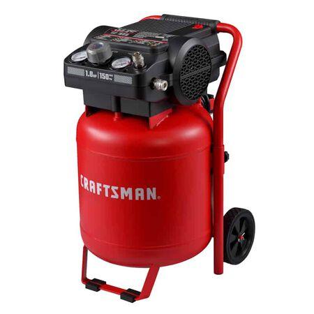 Craftsman 10 gal. Vertical Portable Air Compressor Tank 150 psi 1.8 hp