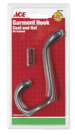 Ace Medium Garment Hook 3-1/2 in. L Metal 1 pk