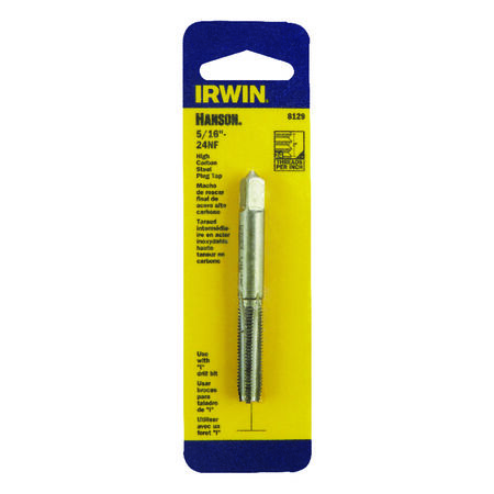 Irwin Hanson High Carbon Steel 5/16 in.-24NF SAE Fraction Tap 1
