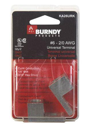 Burndy Universal Terminal 2 pk