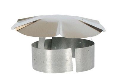 Imperial Manufacturing 9 in. Dia. Galvanized Steel Chimney Rain Cap