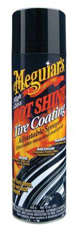 Meguiar's Hot Shine 15 oz. Aerosol Can Tire Cleaner