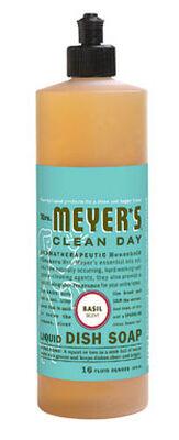 Mrs. Meyer's 16 oz. Basil Scent Liquid Dish Soap