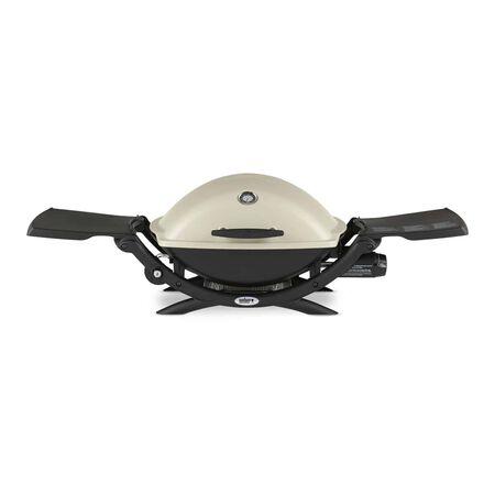 Weber Q2200 Liquid Propane Portable Grill Titanium 1