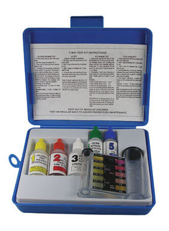 Ace Four Way Pool Test Kit 1/2 oz.