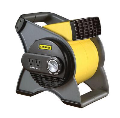 Stanley Blower Fan 12-1/4 in. H x 12-3/16 in. L x 9-5/8 in. W 3 speed AC Yellow