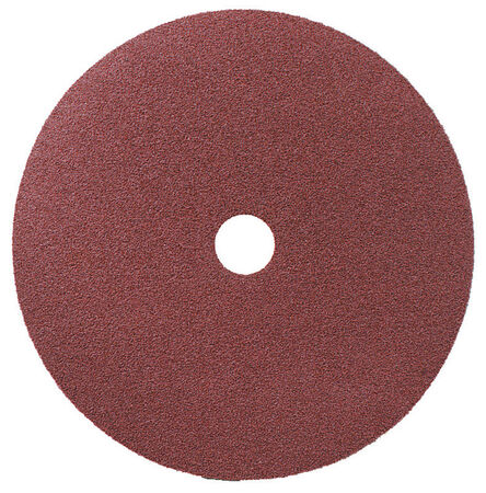 3M 7 in. Dia. Fibre Discs 80 Grit Medium 1 pk