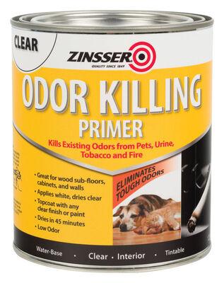 Zinsser Interior Odor Killing Primer 1 qt. Clear