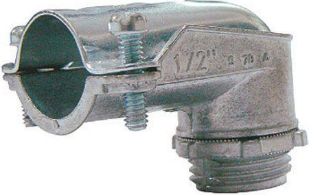 Sigma 1/2 in. Dia. Zinc Flex Angle Connector
