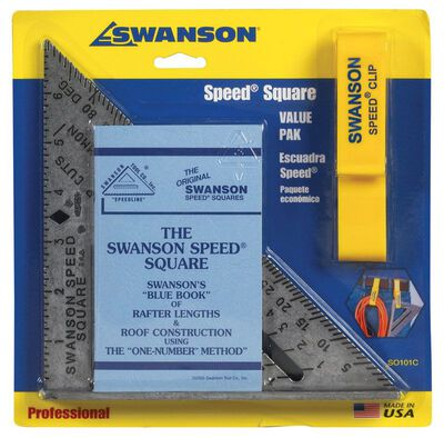 Swanson Aluminum Speed Square 7 in. L x 7 in. H
