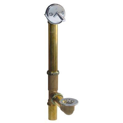 Plumb Pak 1-1/2 in. Dia. Brass Bath Drain