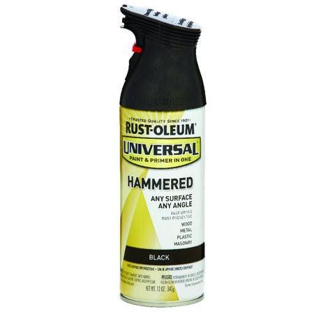 Rust-Oleum Universal Hammered Black Spray Paint 12 oz.