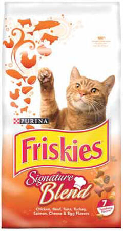 Purina Friskies Grillers Dry All Ages Cat Food 6.3 lb.