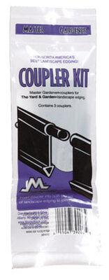 Master Mark Black Plastic Edging Coupler Kit