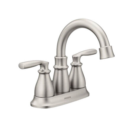 Moen Hilliard Two Handle Lavatory Faucet four Brushed Nickel