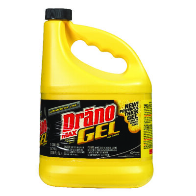 Drano Commercial Line Max Gel Clog Remover 1 gal.
