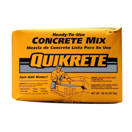 Quikrete Concrete Mix Bag 80 lb.