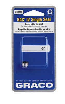 Graco Rac IV Single Tip Seal Use with all RAC IV Spray Tips