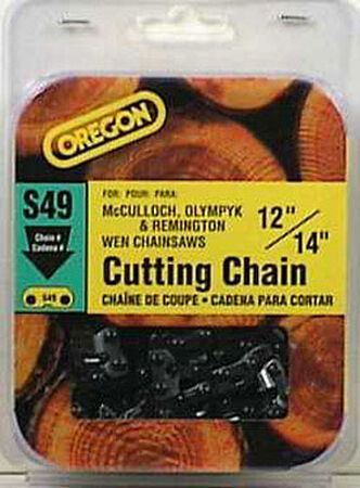 Oregon Chainsaw Chain 49 links 14 in. For Mcculloch Remington Wen/Wagner 91 Low Profile