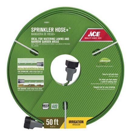 Ace 50 ft. L Sprinkler Hose Kink Resistant