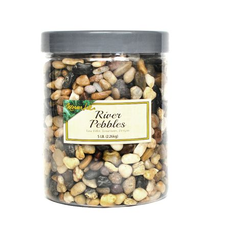 Mosser Lee Brown Decorative Stone River Pebbles 5 lb.