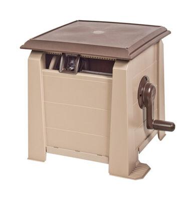 Ames Neverleak Stationary Hose Cabinet 175 ft. Brown/Tan