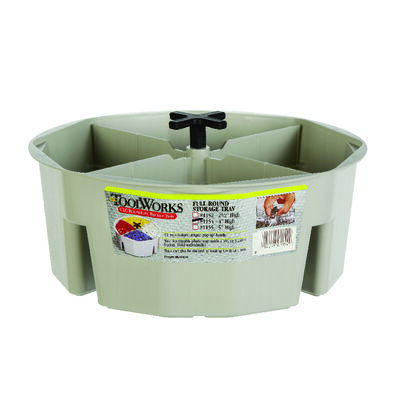 CLC Bucket Tray 10.5 in. L Plastic