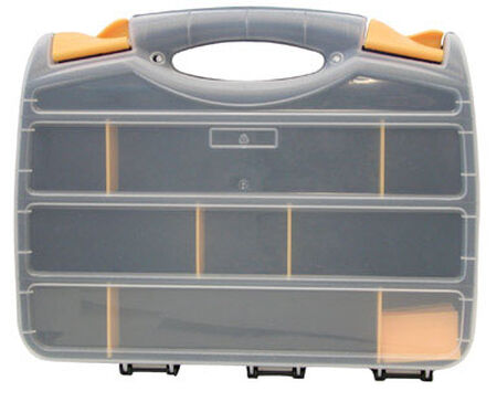 Quantum Storage Storage Organizer 2 in. H x 10 in. W x 13 in. L Gray
