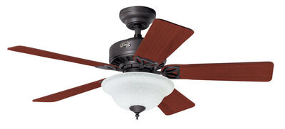 Hunter Caraway Ceiling Fan 44 in. W Bronze