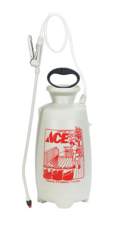 Ace Deck/Fence/Patio Sprayer 2 gal. Driveways Exterior Surfaces Fences Patios