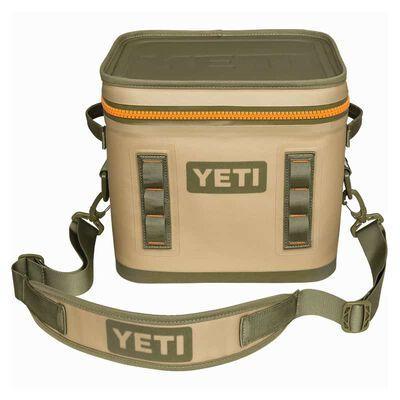 YETI Hopper Flip 12 Cooler Bag Blaze Orange/Field Tan