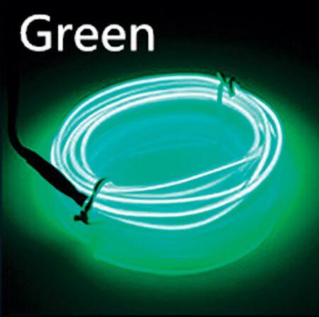 Celebrations Neon Rope Light Set Green Plastic 1 pk