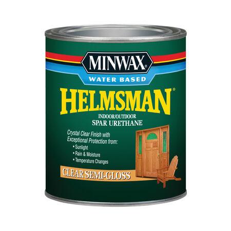 Minwax Helmsman Semi-Gloss Clear Spar Urethane 1 qt.