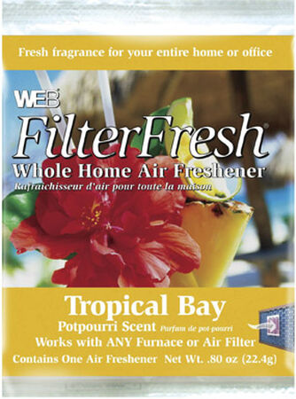 Web Filter Fresh Air Freshener Tropical Bay 0.80 oz.
